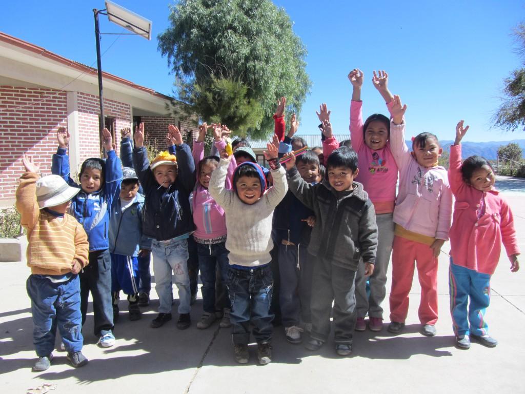 Niños en la U.E. SL Palqui